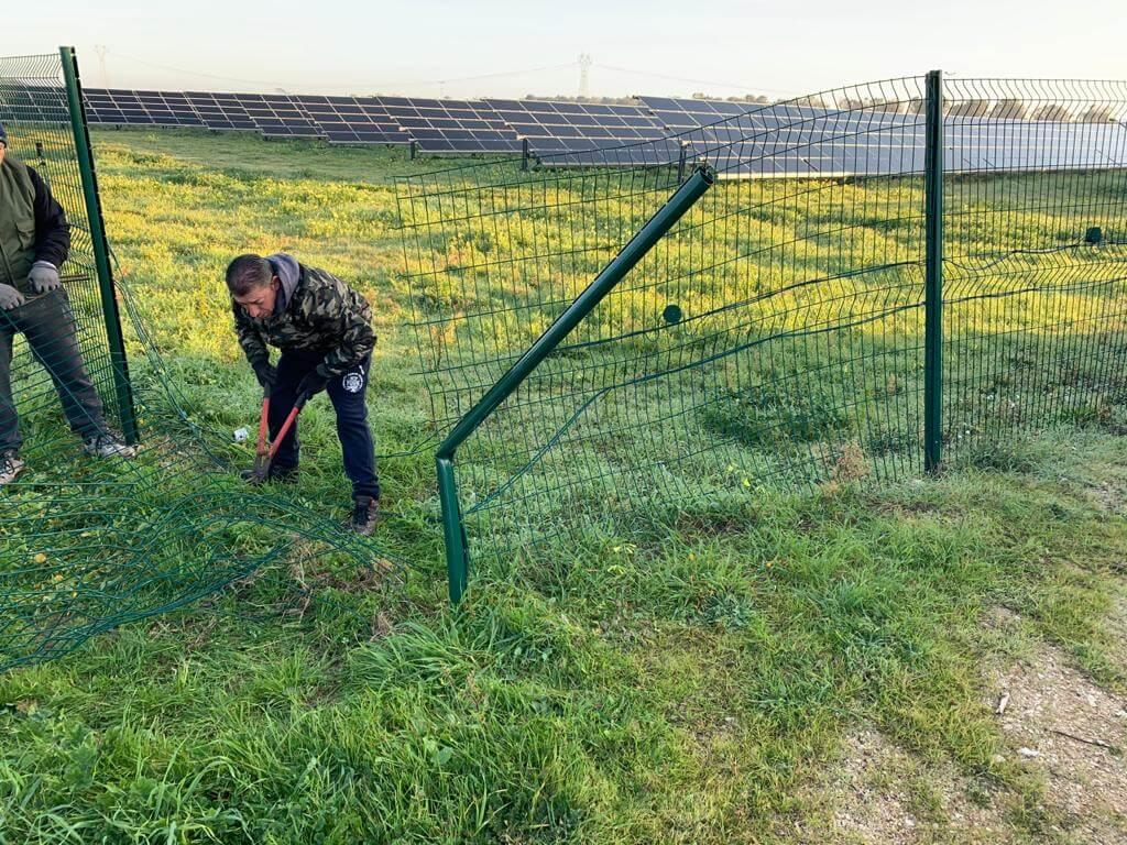 Montaggio e riparazione recinzioni 2