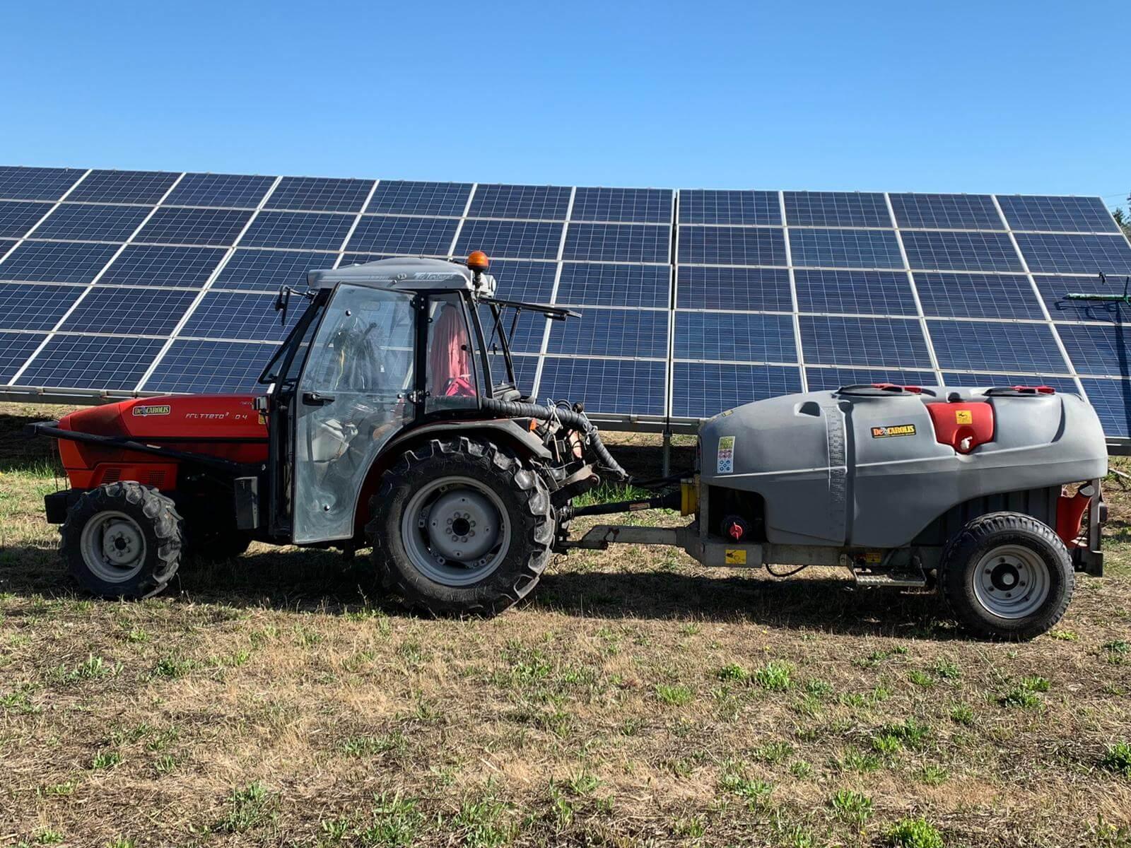 Pulizia pannelli solari 8